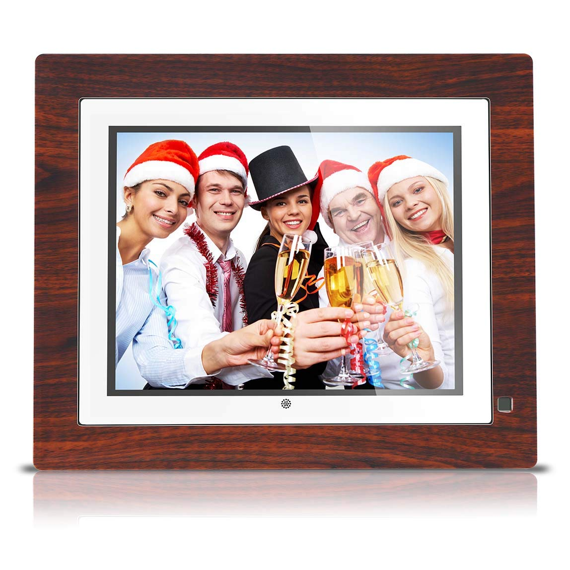 BSIMB Digital Picture Frame Digital Photo Frame 9 inch IPS Display 1067x800(4:3) Hi-Res Digital Photo & HD Video Frame and Motion Sensor USB/SD Card Playback Infrared Remote Control M09 by Bsimb (Image #1)