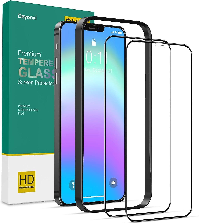 Protector de pantalla compatible con iPhone 12/iPhone 12 Pro