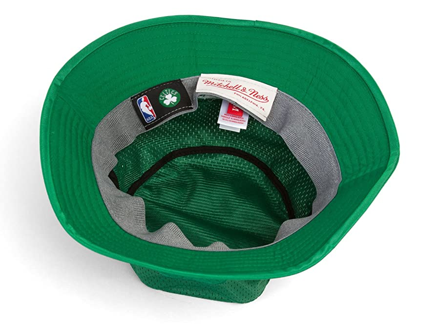 reputable site b04ed 7500f ... coupon for mitchell ness boston celtics tonal jersey mesh bucket hat s  m at amazon mens clothing