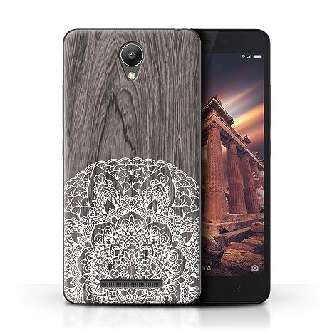 Coque De Stuff4 Pour Xiaomi Redmi Note 2 Prime Bois Rustique
