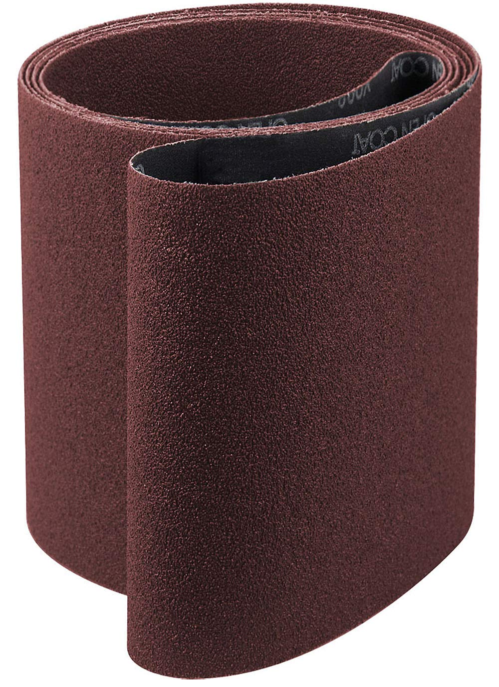 6x80 Aluminum Oxide 80 Grit Sander Belt, x-weight<br>A&H Abrasives 933020x5, 5-pack