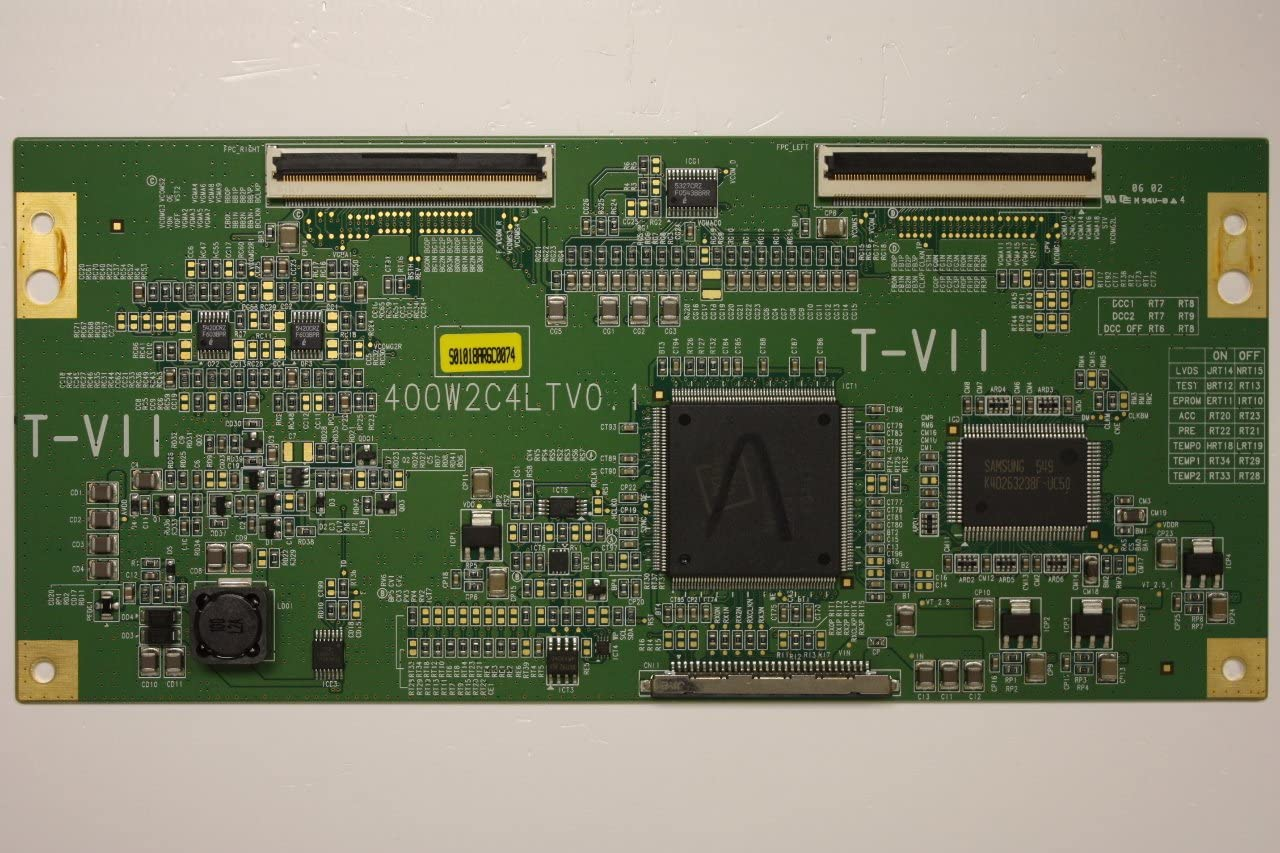 Humax Viewsonic Pyle Olevia Samsung Westinghouse 40 LGB-40TPVR LJ94-01018A T-Con Timing Board Unit