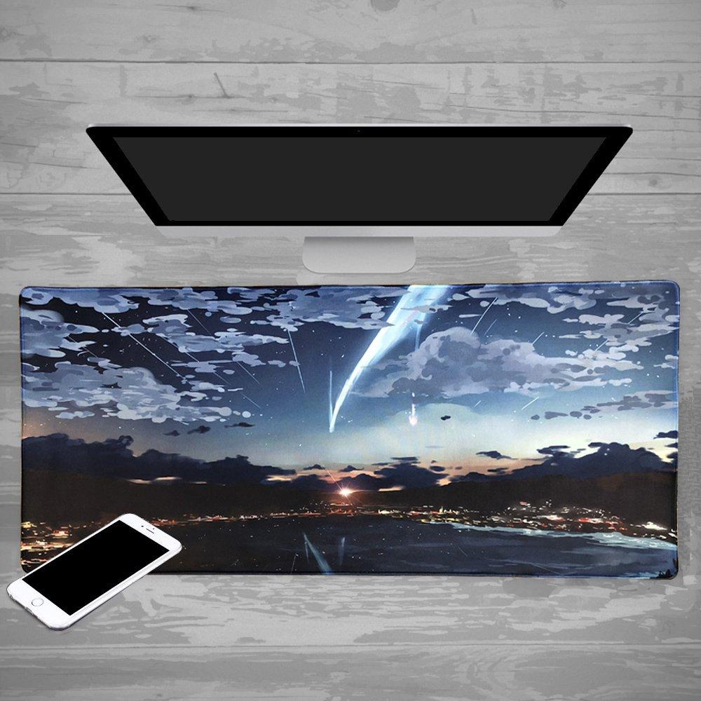 computer e PC base in gomma antiscivolo mouse impermeabile ideale per laptop Custom design bordi cuciti Beyme Professional Gaming Mouse pad