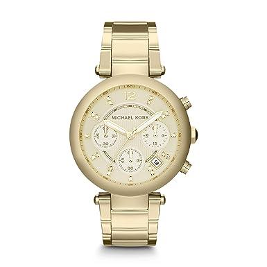 Michael Kors Women s Parker Gold Tone Staineless Steel Watch MK5701