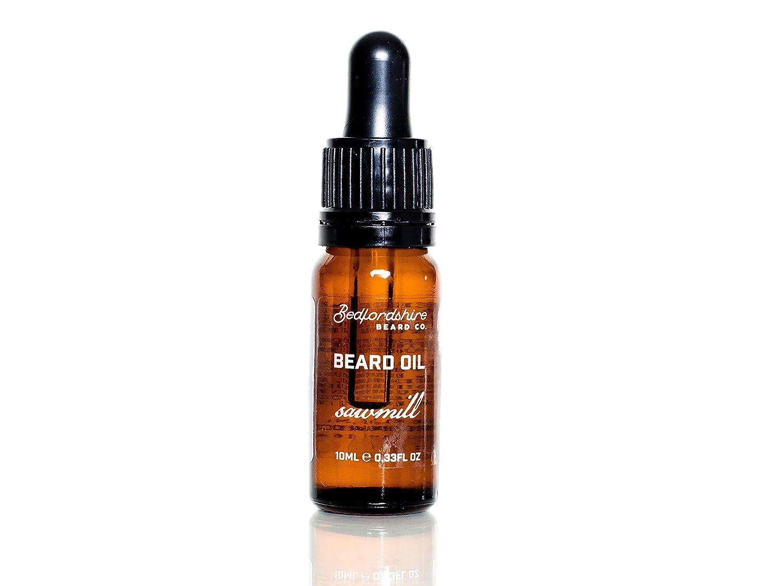 Bedfordshire Beard Co Sawmill Beard Oil 10ml n/