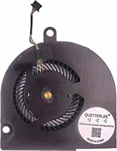 QUETTERLEE Replacement New Laptop CPU Cooling Fan for Dell Latitude E5550 Series EG50050S1-C460-S9A KDB0705HCA02 DC5V 0.5A Fan