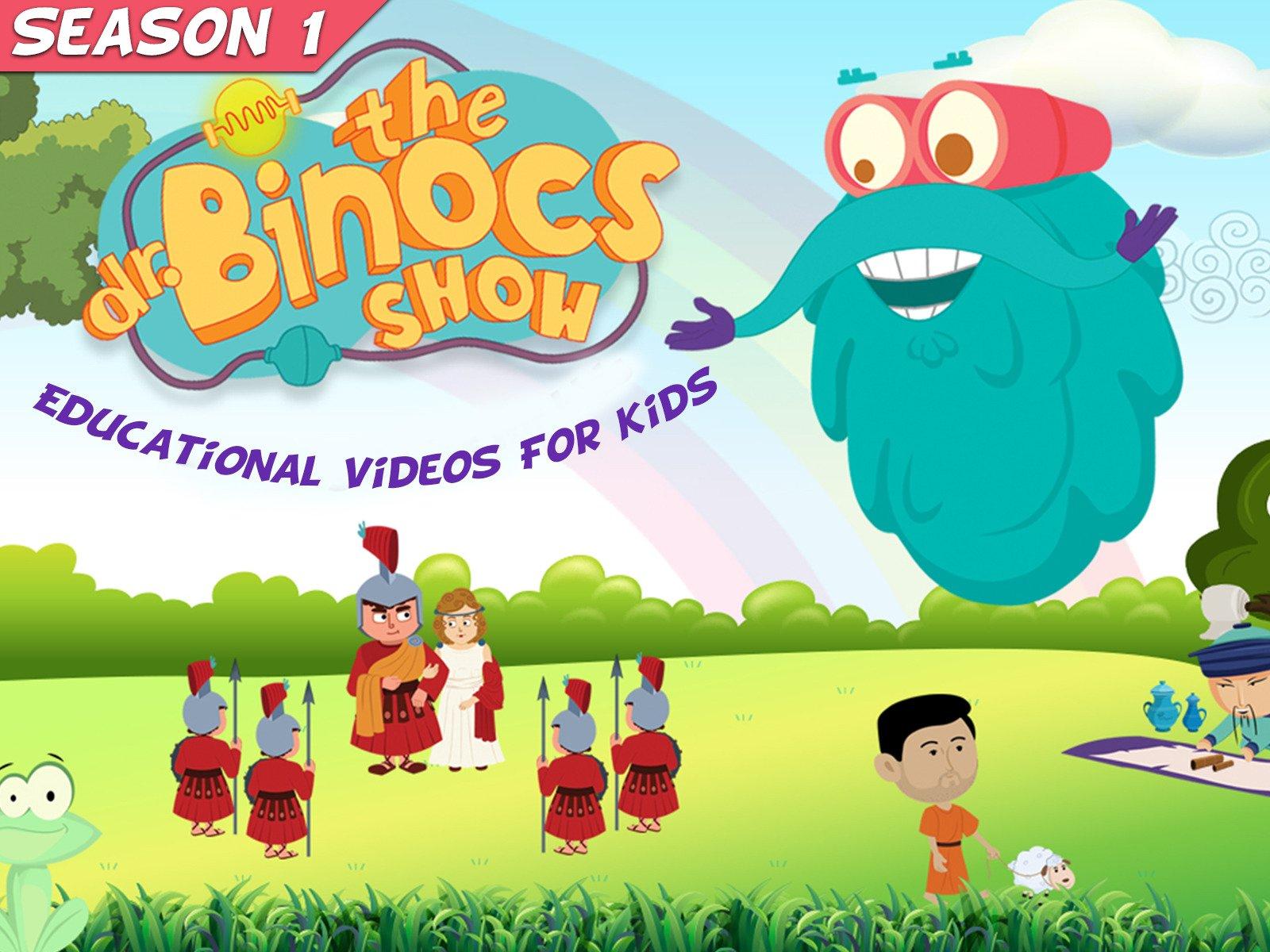 Amazon com: Watch Dr  Binocs Show Educational Videos For