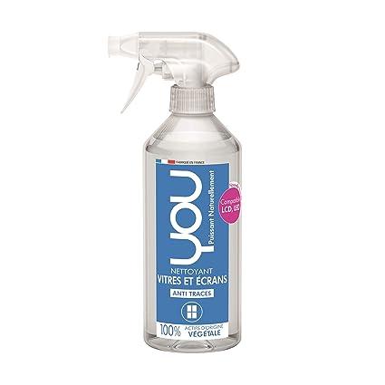 YOU - Spray Ecologique Nettoyant Vitres et Ecrans compatible LED LCD - Lot  de 3 x a8fa27e6624