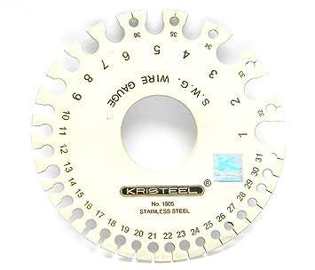 Buy swg 1505 round wire gauge 1 to 32 kristeel online at swg 1505 round wire gauge 1 to 32 kristeel keyboard keysfo Gallery
