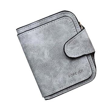 89dc54a0d9c90 Mini Brieftasche Clutch Piebo Vintage Damen Geldbörse Karten Halter  Geldbeutel Wölbungs Kleine Portemonnaie Frauen Mappe mit