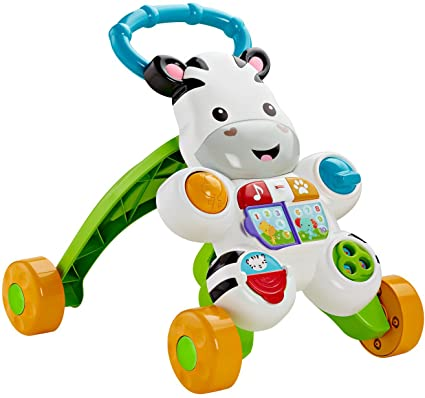amazon com fisher price learn with me zebra walker toys games rh amazon com Bounce and Spin Zebra Bounce and Spin Zebra