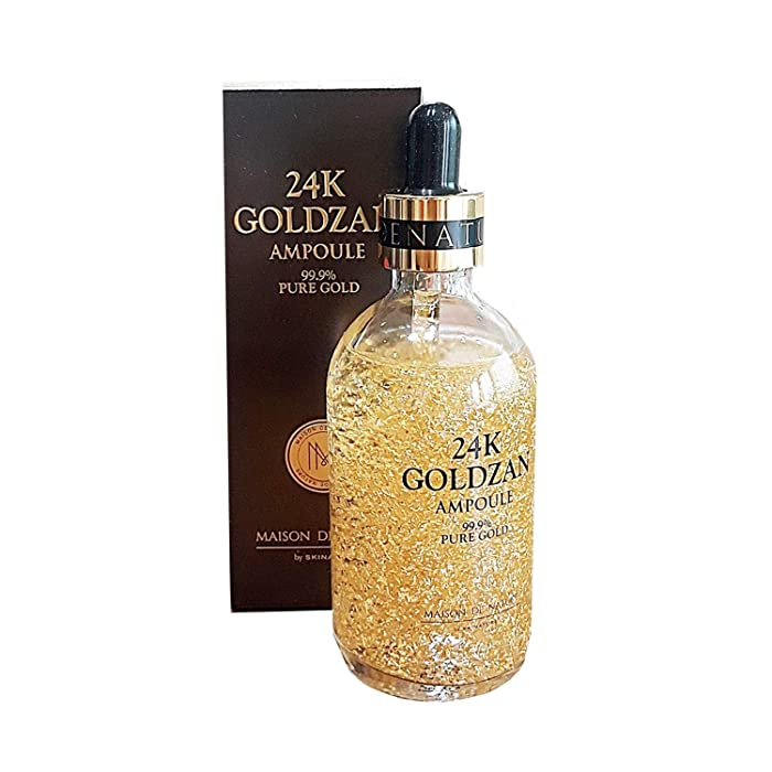[Maison de Nature] 24k GOLDZAN AMPOULE 99.9% Pure Gold Best Selling Serum of The Year in Korea