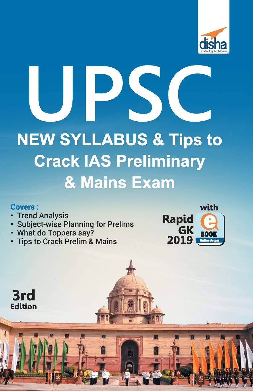 Upsc New Syllabus & Tips to Crack IAS Preliminary and Mains Exam with Rapid Gk 2019