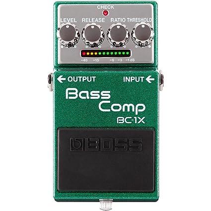 BC-1X Bass Compressor Pedal de efectos