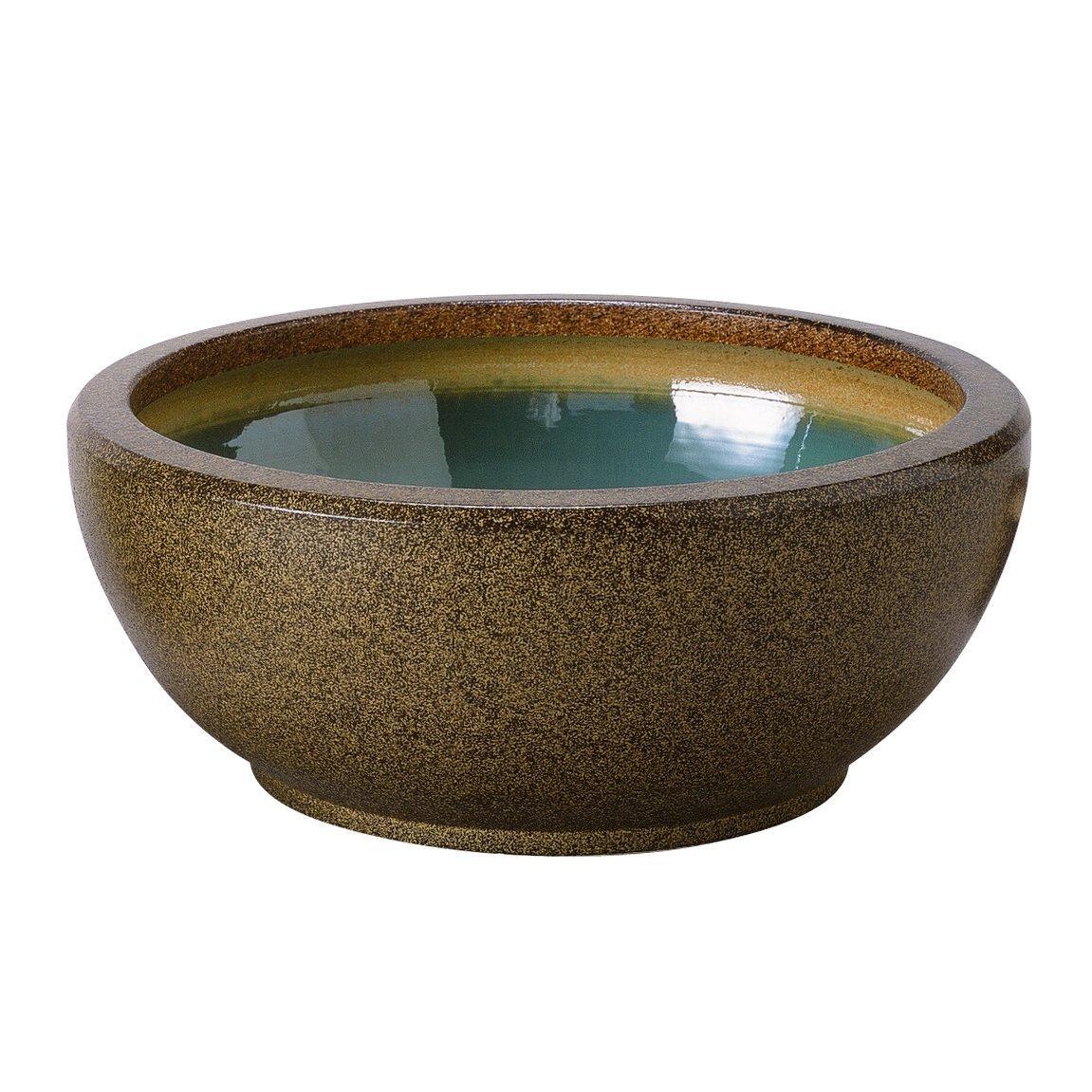アドミナ 睡蓮鉢 メダカ鉢 金魚鉢 水鉢 13号 40cm 【セゾン SA-3】