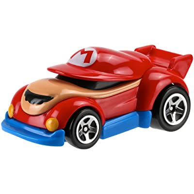 Hot Wheels Mario Bros. Mario Car Vehicle: Toys & Games