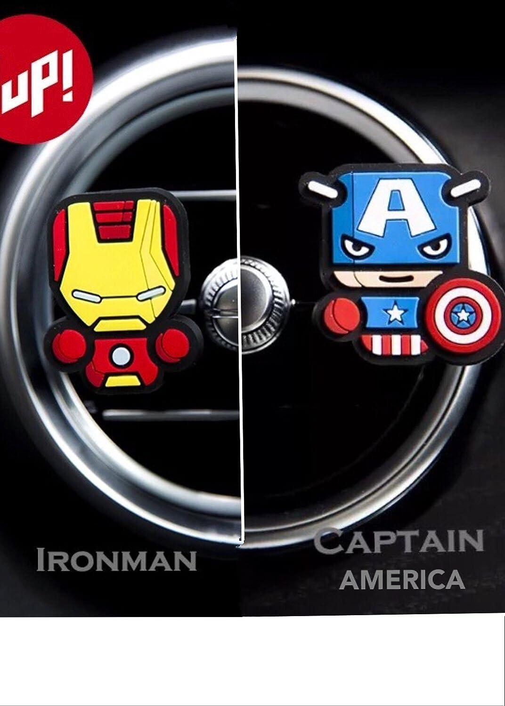 Bello da 2 deodoranti per auto! Marvel Avengers Hulk, Thor,, Iron Man, Captain America, Black Widow e Hawkeye, trasformare le alesatrici Car! spedizione gratuita IN 2 a 3 giorni lavorativi. 7 Colours