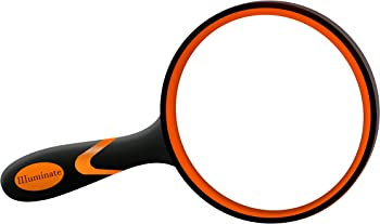 Illuminate Magnifier Non-Slip Handle Magnifying Glass