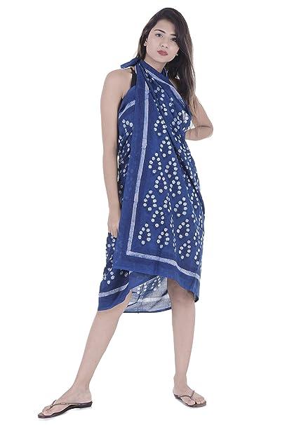 999c9ffd3818a Handicraft-Palace Women s Cotton Floral Printed Swimwear Beach Wear ...