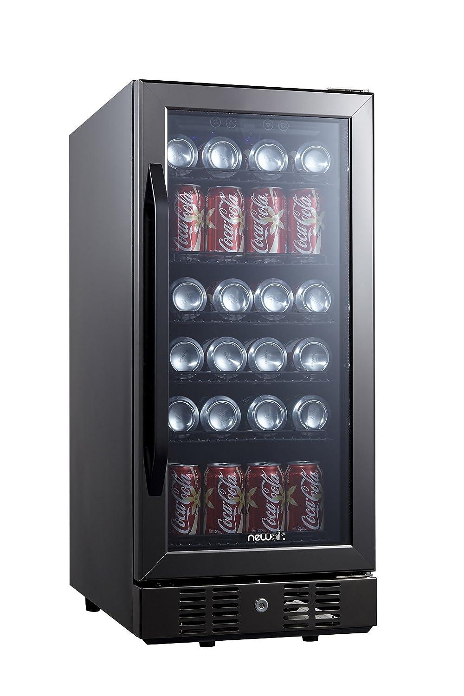 NewAir ABR-960B Beverage Cooler, Black Stainless Steel