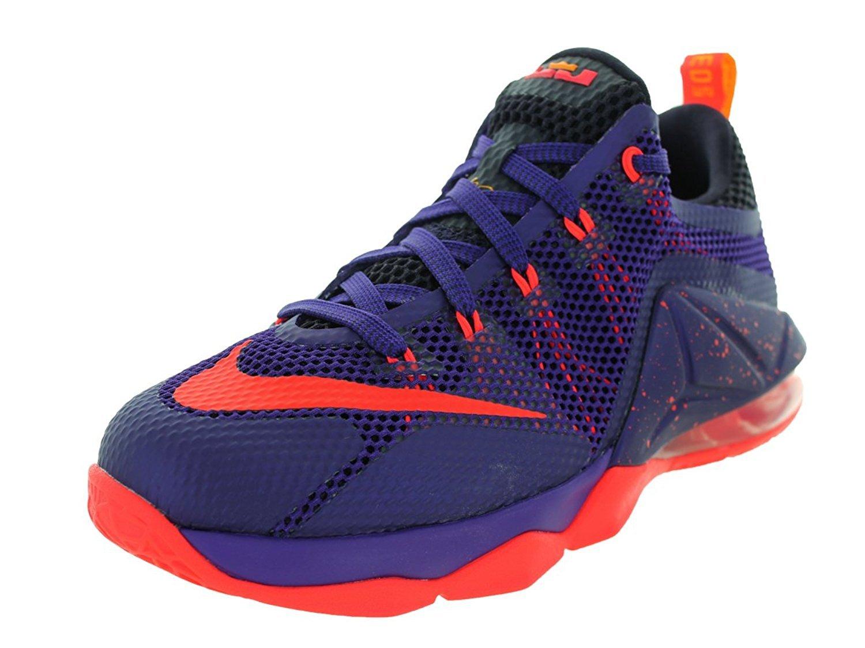 NIKE Kids Lebron XII Low (GS) Basketball Shoe B0727PMZSC 6 D(M) US|7107258764272