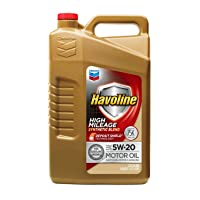 Deals on Havoline 5W20 High Mileage Synthetic Blend 5 Quarts