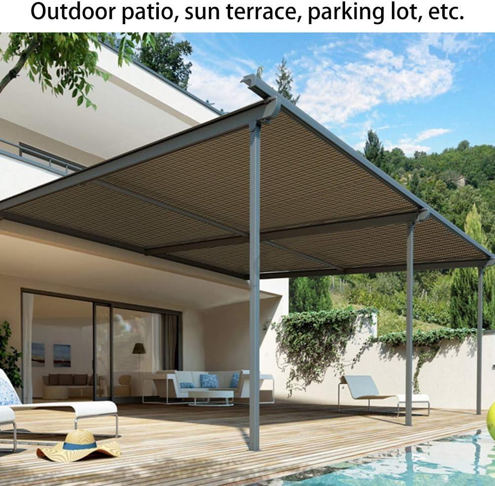90% Protector solar Malla de Sombra,Tela con Ojales sellados Edge,Sombreadora rectángulo para Invernadero de jardín al Aire Libre para Estanque,6m*8m Balcón patio,Red para jardín o Planta,Lona: Amazon.es: Hogar