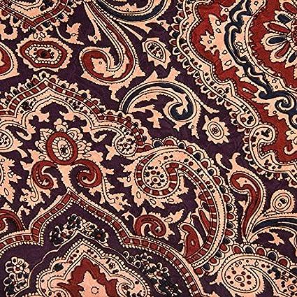 Wild Rag Silk Paisley Jacquard Scarf Bandana (Plum/Maroon) Wyoming Traders Paisley-Plum-Maroon