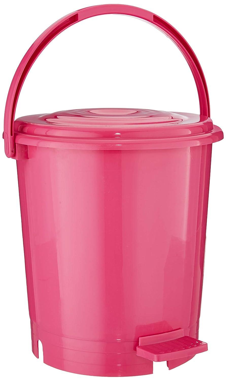Princeware Assembled Light Plastic Garbage Bucket, 12 Liters