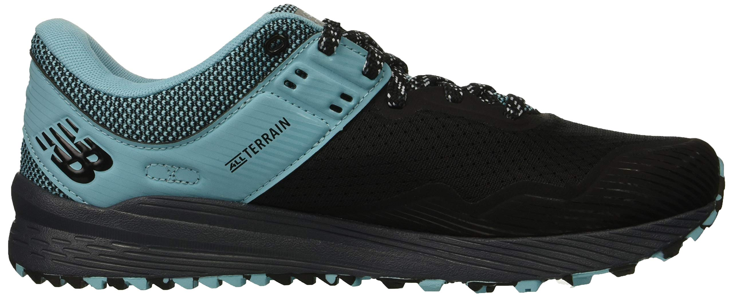 New Balance Women's Nitrel V2 FuelCore Trail Running Shoe, Black/Thunder/Enamel Blue, 6 B US by New Balance (Image #7)