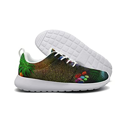 A Dreamlike Night Forest Womens New Sports Running Shoes Custom Colorful