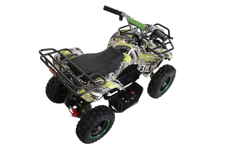 Elektro Kinder Miniquad TORINO 800 Watt ATV Pocket Quad Kinderquad Kinderfahrzeug Blau