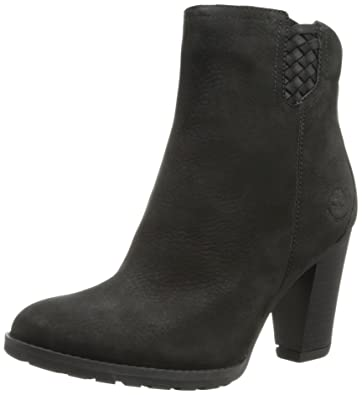bbc61d8687d Timberland Earthkeepers Stratham Heights Ankle Womens Black Leather UK 6.5   Amazon.co.uk  Shoes   Bags