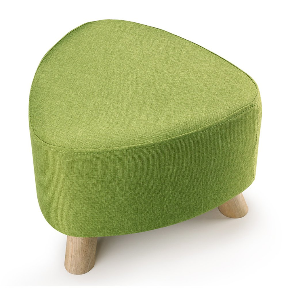 D 28x39cm(11x15inch) Low Stool,Three-Legged Removable and Washable Firmness Fabric Solid Wood Small Stool shoes Stool Sofa Bench-d 28x39cm(11x15inch)