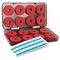 Linea de pesca - SODIAL(R) 16 piezas rojo