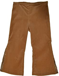 product image for Little Mass Brown Dressy Velvet Pants