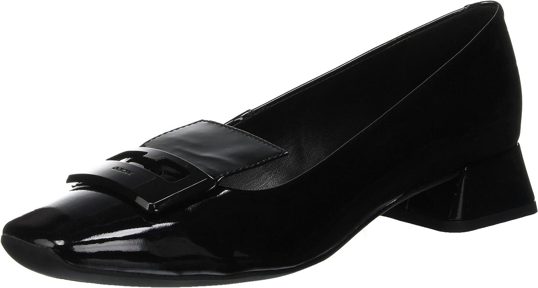 H/ÖGL Womens Amber Closed Toe Ballet Flats Schwarz 0100 5.5 UK Black
