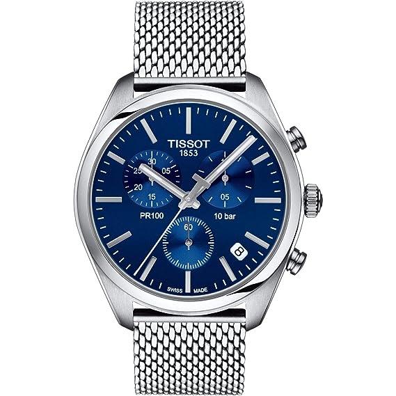 Tissot PR 100 T101.417.11.041.00 Cronógrafo para Hombres: Amazon.es: Relojes