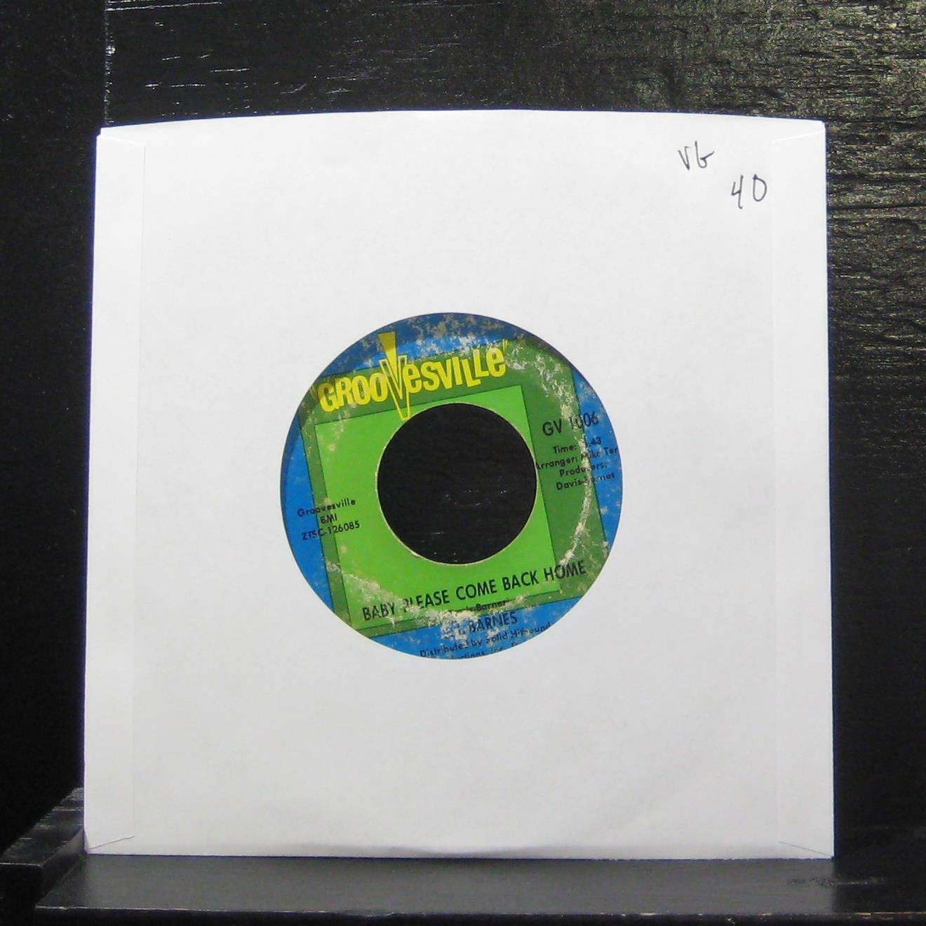 J. J. Barnes - Baby Please Come Back Home / Chains Of Love - 7