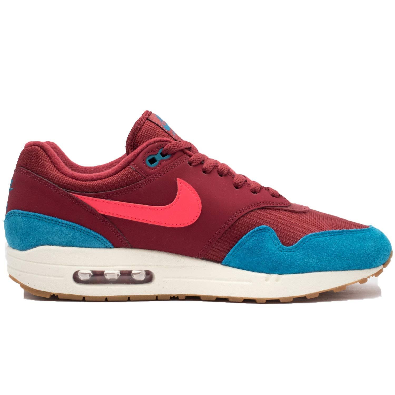 more photos add4d 6e5a8 Amazon.com   NIKE Men s AIR MAX 1 Shoe White University RED Grey   Shoes