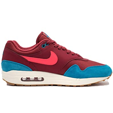 new products b4d80 bab05 NIKE Men s Air Max 1 Teal Burgundy AH8145-601 (Size  ...