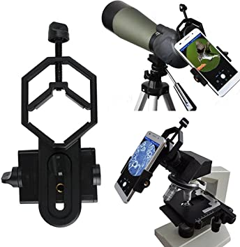 Vizzlema Universal Stoßfest Handy Teleskop Adapter Elektronik