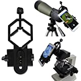Vizzlema Adattatore Universale Smartphone Cellulare per Fucile Telescopio Cannocchiale Binocolo Microscopio 117g