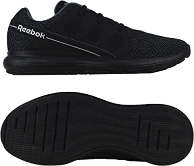 حذاء للجري دريفتيم 2.0 شبكي بشعار جانبي ورقبة منخفضة ورباط للرجال من ريبوك