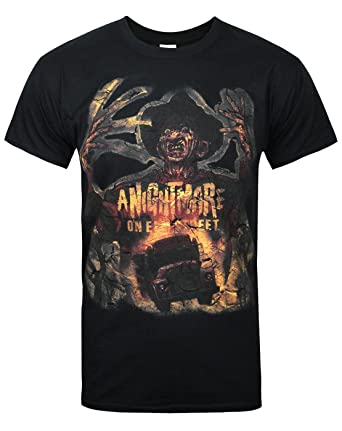 509995aa114 Official Nightmare On Elm Street Freddy Krueger Men s T-Shirt (S ...