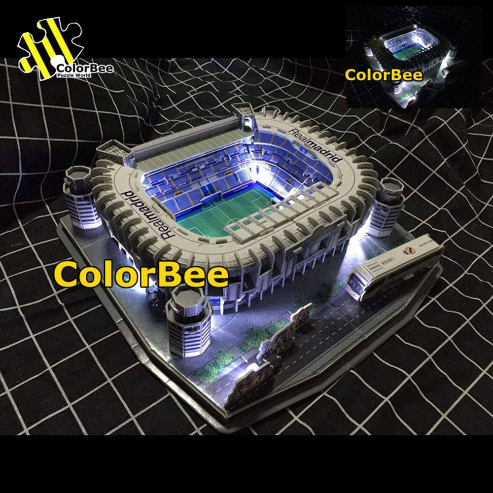 Amazon.com: Sports Stadium 3D Model, Real Madrid Bernabeu ...
