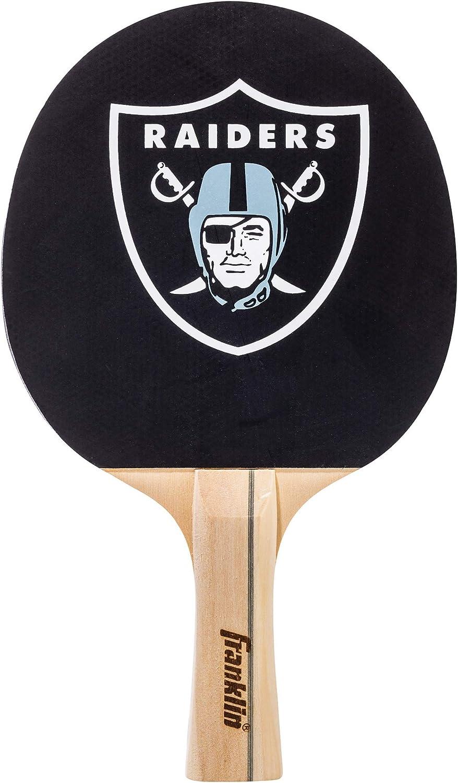 Franklin Sports NFL Team Paddle de Tenis de Mesa con Licencia