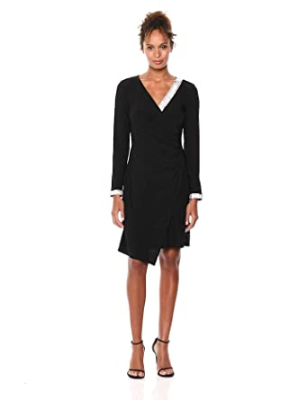 b6bdff98 Eliza J Women's Extended Cap Sleeve Sheath Dress at Amazon Women's ...