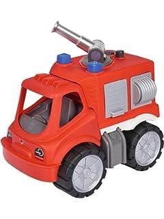Big Bobbycar Feuerwehr Mit Flüsterreifen Spielzeug
