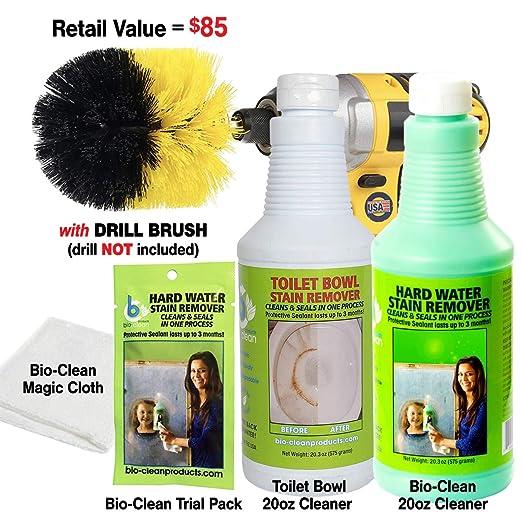 Bio Clean: duro agua quitamanchas: comprar 1 botella de limpiador ...